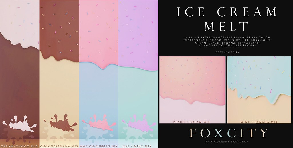FOXCITY. Photo Booth – Ice Cream Melt