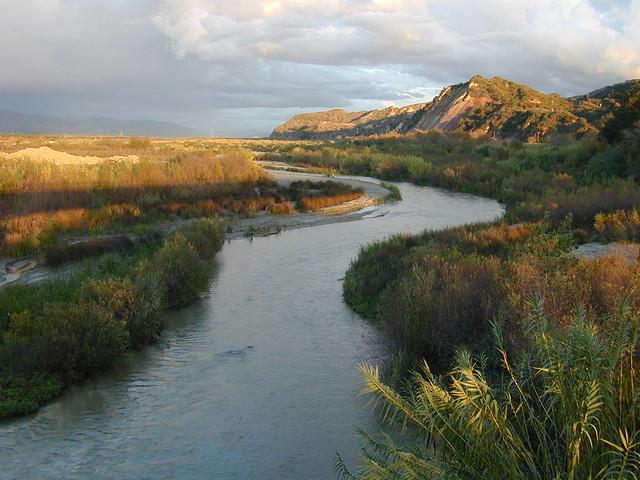 The Santa Clara River