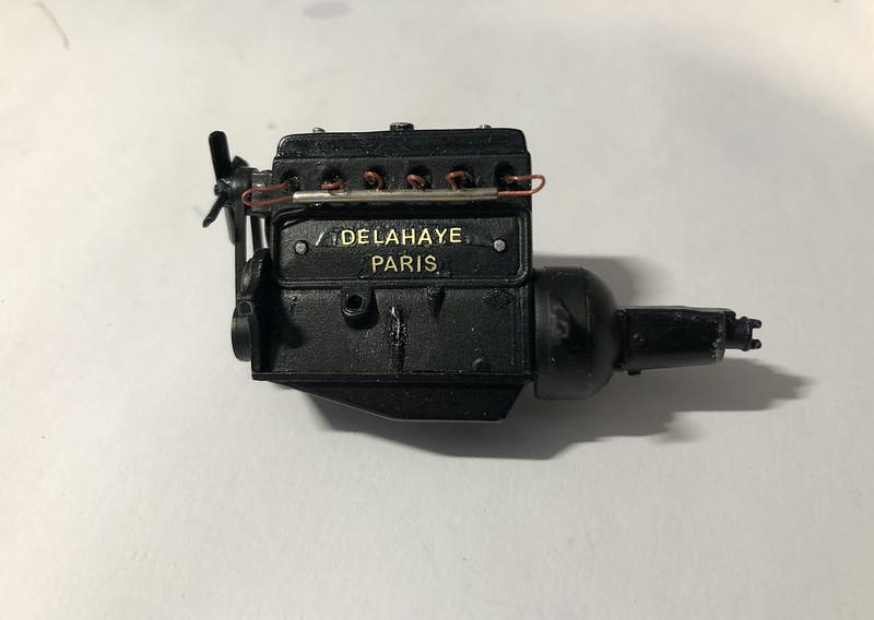DELAHAYE Type 135 modèle 1938 ... Du scratch, du scratch, encore du scratch et toujours du scratch ! Réf 80707 49869816858_0dcca01a97_c