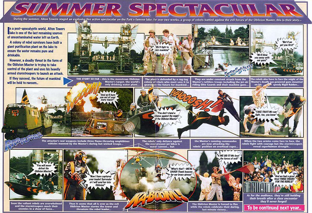 Summer Spectacular 1999 Comic