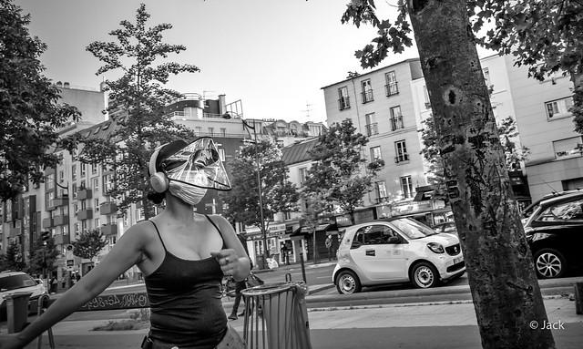 Confinement - sport masqué