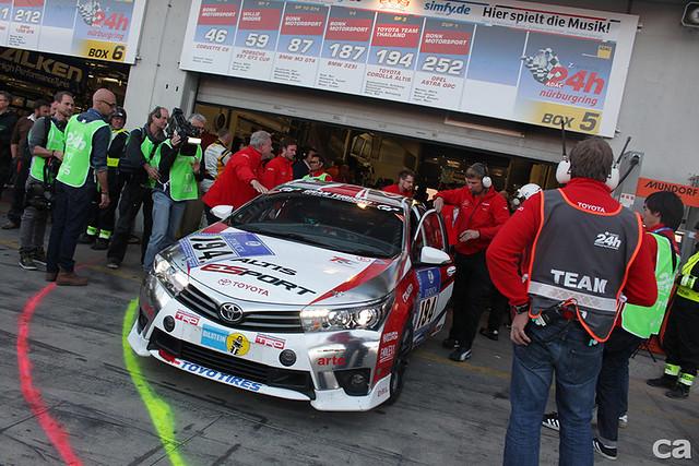 紐柏林24小時耐久賽賽場中,好幾年來自泰國的Toyota運送了兩輛當地生產的Toyota Altis參賽,只要有心沒什麼不可能。