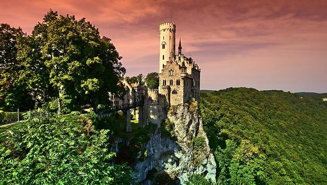 Schloss-Lichtenstein-Germany