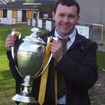 Grant Turner with leaue championship trophy (Fraser Newlands)