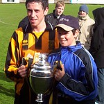 Russell Guild with younger brother Graeme (Fraser Newlands)