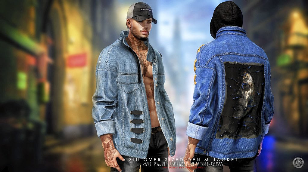 Ascend Siu Over Sized Denim Jacket