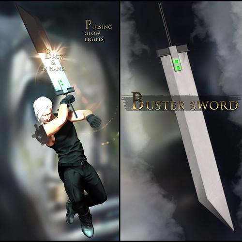-Elemental- 'Buster' Sword