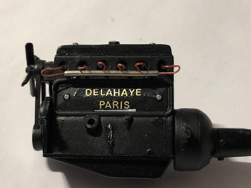 DELAHAYE Type 135 modèle 1938 ... Du scratch, du scratch, encore du scratch et toujours du scratch ! Réf 80707 49870306866_a6cd4f8d9f_c