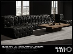 BLACK NEST / Runsaus Living Collection / Collabor88