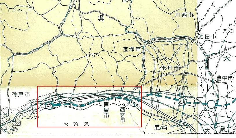 名神高速道路は神戸まで行かないのはなぜ (2)