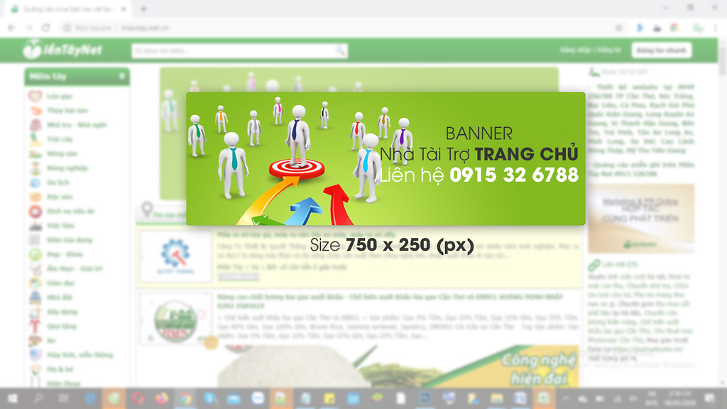 Trang quảng cáo miền Tây DBSCL www.MienTay.net.vn