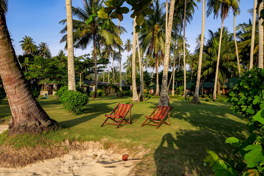 The Dusita Resort grounds