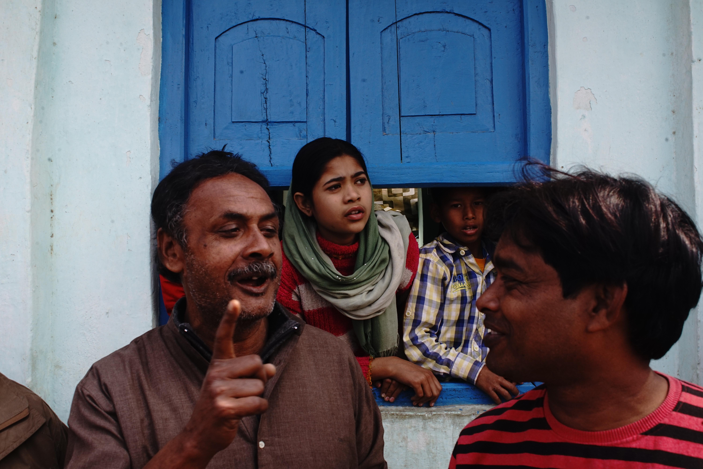 Spectators, anti-CAA rally in Munger, India, 2020 | J-T.M.