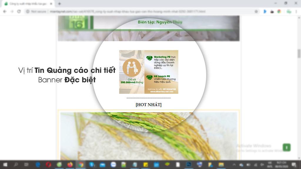 Gạo thơm đặc sản Cần Thơ 0915326788 Phuc@mientaynet.com