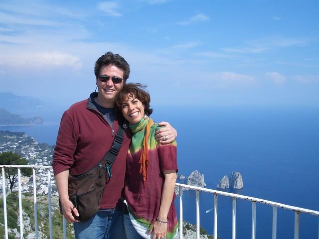 Sarah and John Capri