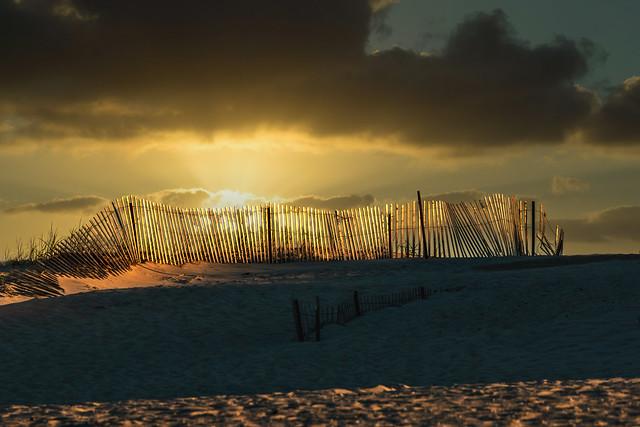Nickerson Beach sunset