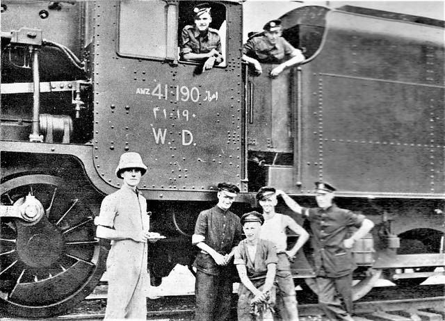 Egypt Railways - Egyptian State Railways Class 8F 2-8-0 steam locomotive Nr. 847 (North British Locomotive Works, Glasgow 24715 / 1941)