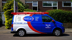 Pimlico plumbers flying the colours