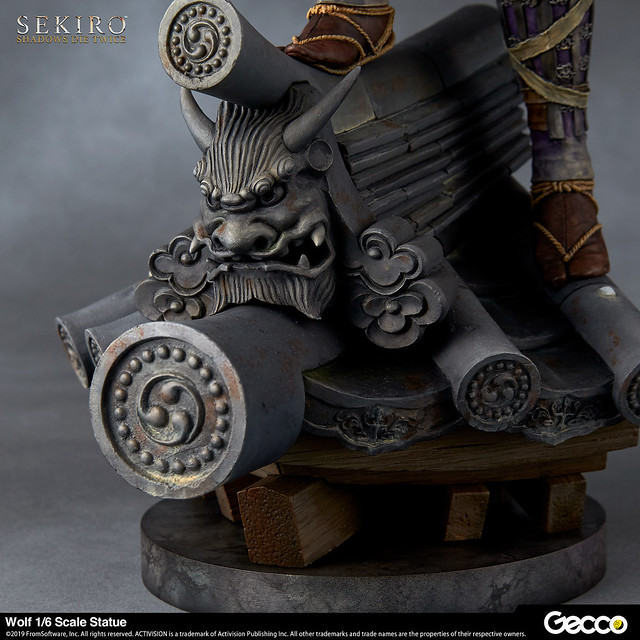 獨臂之狼,潛身戰國。Gecco《隻狼:暗影雙死》狼 1/6比例雕像|SEKIRO: SHADOWS DIE TWICE 狼 1/6スケール スタチュー