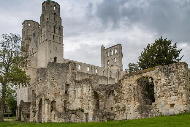 Armchair Traveling - Jumièges Abbey, Caudebec-en-Caux, France