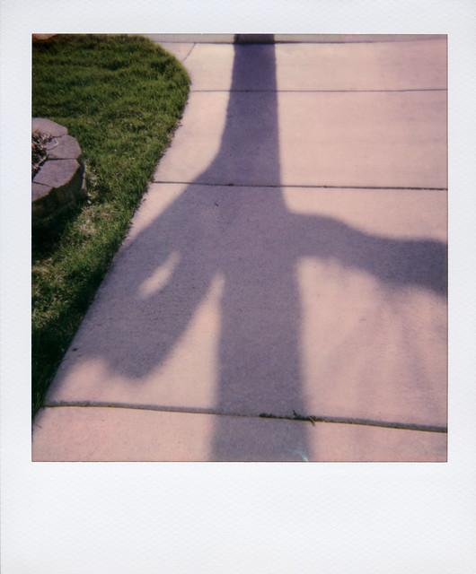 Shadow Outside My Door