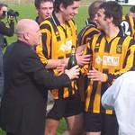 Ross Campbell & Gary McGowan celebrate (Fraser Newlands)