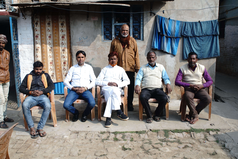 Rally organizers, anti-CAA rally in Munger, India, 2020 | J-T.M.