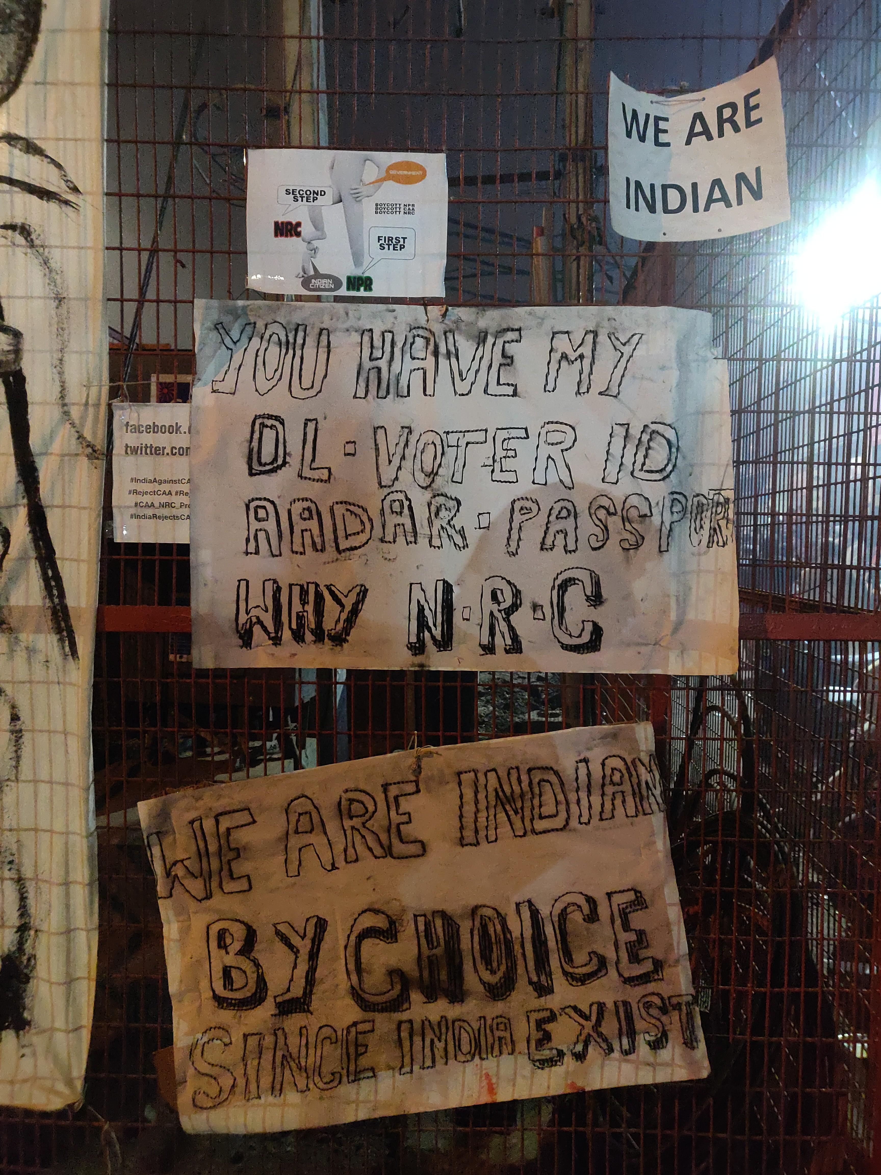 Anti-CAA sit-in in Shaheen Bagh, Delhi, India, 2020 | J-T.M.