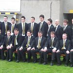 Huntly squad in their new suits from Celebrations of Turriff (Fraser Newlands)