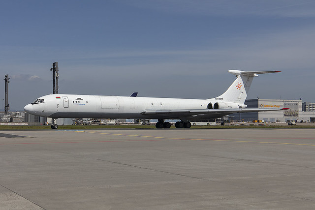 EW-450TR, Ilyushin Il-62MGr Rada Airlines @ Frankfurt FRA EDDF