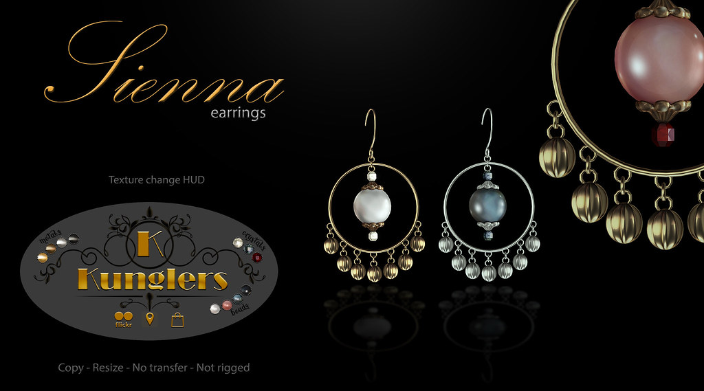 KUNGLERS – Sienna earrings vendor