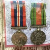 VE Day MEdals