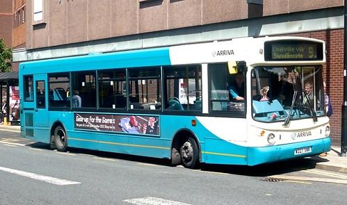W227 SNR 'ARRIVA Midlands' No. 2227. Dennis Dart / Alexander ALX 300 on Dennis Basford's railsroadsrunways.blogspot.co.uk'