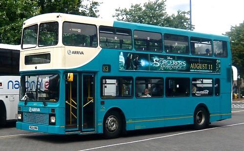 R624 MNU 'ARRIVA Midlands' No. 4624. Leyland Olympian-50 / Northern Counties Palatine on Dennis Basford's railsroadsrunways.blogspot.co.uk'