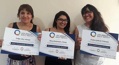 Representantes Docencia Colegio Online - Premios LAQA
