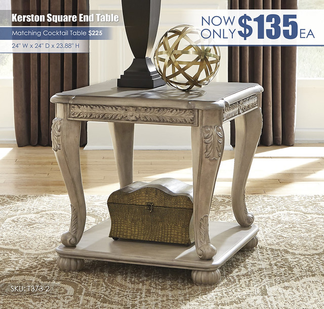 Kerston Square End Table_T373-2