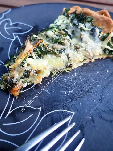 Quiche Chou Frisé & Lardons / Kale & Bacon Pie