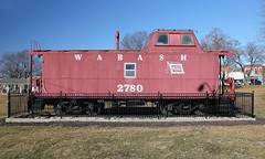Wabash Caboose 2780 - Stanberry, MO