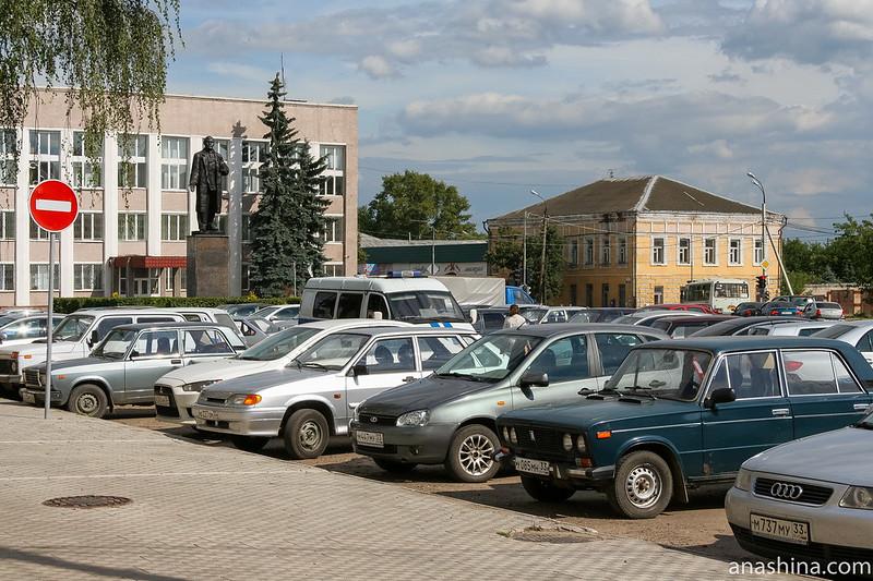 Александров, Советская площадь