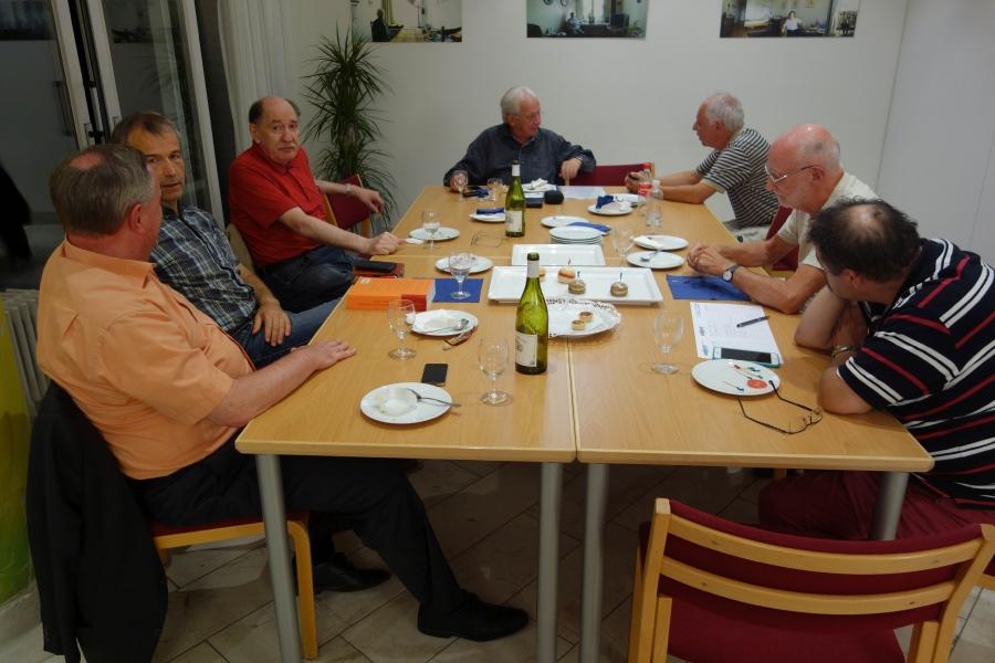 2015 Erster Treff im Stampfenbach