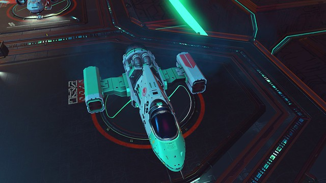 ship suffering same wing glitch as my own