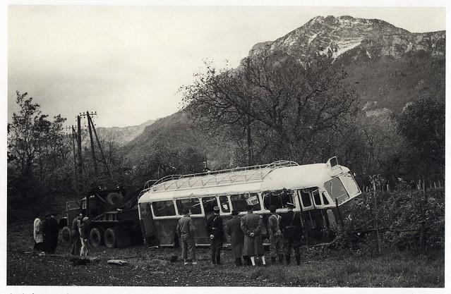 Postcard Autocar Chausson APH Transports SGTE Seyssins (38 Isère) 4 Novembre 1951b