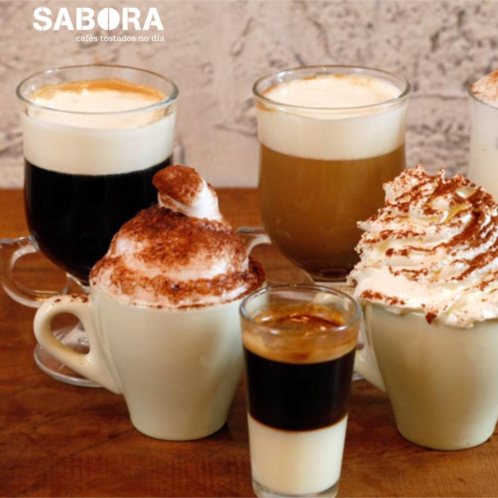 Distintos tipos de café con alcol