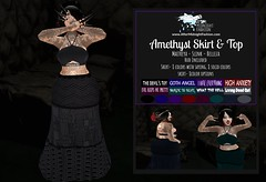 ::AMF:: Amethyst Skirt and Top AD