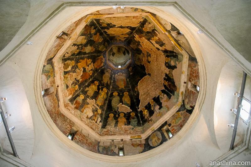 Роспись шатра Покровской церкви, Александровский кремль, Свято-Успенский женский монастырь, Александров
