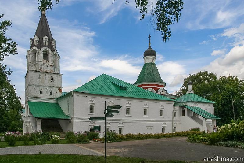 Покровская церковь, Свято-Успенский женский монастырь, Александров