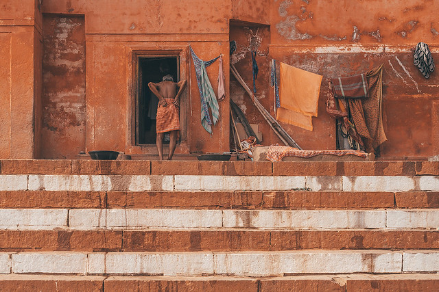 Varanasi in red