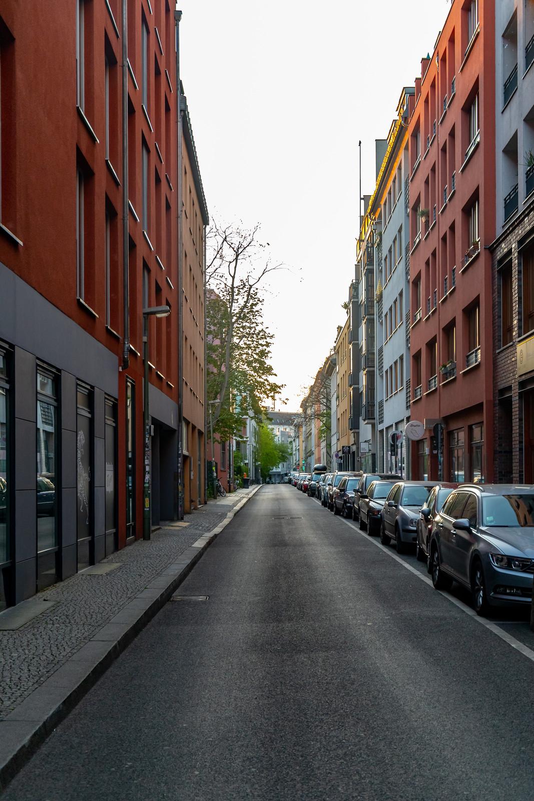 Die Steinstraße im Scheunenviertel