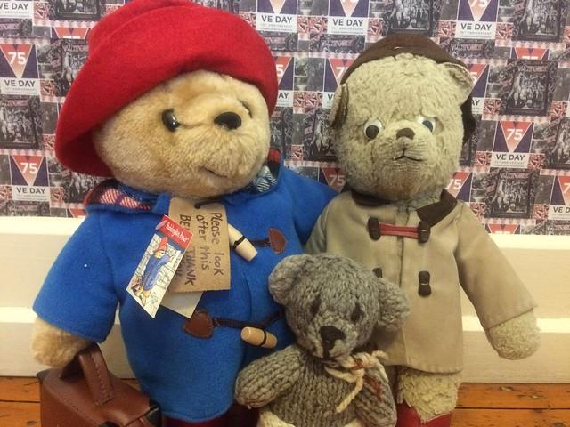 Paddington and Scout Celebrate VE Day