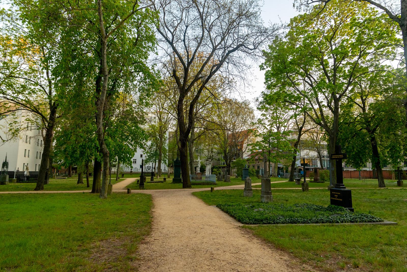 Der Garnisonfriedhof